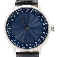 Simple 24 H main montre avec SWISS MADE Mouvement par Svalbard. édition limitée!