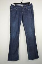 Express Barely Boot Zelda Slim Boot Ultra Low Rise 4R Womens Jeans 30 X 33