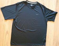 Reebok Mens Xl Play Dry Black Short Sleeve Shirt