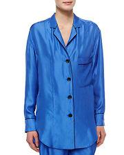 RAG & BONE Gabrielle Celeste Combo Silk Dot Blouse Top Size XS NWT $495