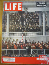 LIFE Feb 2 1953 Eisenhower 1st inaugural, L Ball baby, Roualt, Ustinov 1953 cars