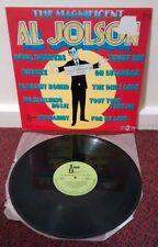 THE MAGNIFICENT AL JOLSON 1977 Brazil LP Vinyl Imagem 5074