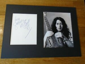 Rory Gallagher Genuine Signed Authentic Autograph  - UACC / AFTAL.