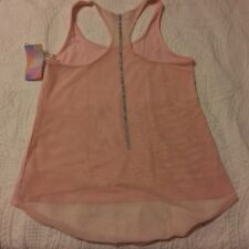 Sweat Whitney Port Women/Girls Undershirts Tank Top - Pink  - Size Women L