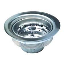 Master Plumber 622-704 Stainless Steel Basket Sink Strainer Chrome