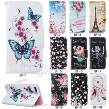 Fashion Flip PU Leather Wallet Card Pocket Stand Case Cover Lot Silicone Bumper