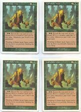 CALL of the WILD X4  MAGIC Mtg 6TH EDITION - NEAR MINT/EXCELLENT (NM/EX)