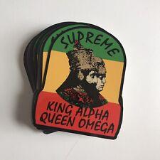Supreme King Alpha Sticker 100% AUTHENTIC SUPREME STICKER BOX LOGO