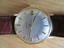 SOLID 9CT GOLD OMEGA VINTAGE WATCH