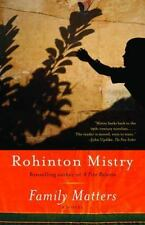 FAMILY MATTERS by Rohinton Mistry FREE SHIPPING paperback book a wonderful novel
