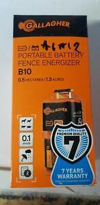 A1A12 Gallagher B10 Portable Battery Energiser 003634
