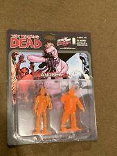 The Walking dead SkyBound Exclusive Image Comics Mini Figures Andrea Orange NEW