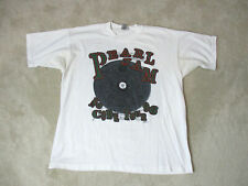 VINTAGE Pearl Jam No Code Concert Shirt Adult Extra Large White Band Tour Mens
