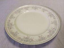 "Johann Haviland ROYAL LACE Dinner Plate, 10-1/8"", Blue Floral, Arches on Rim"