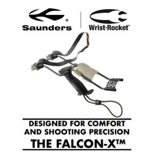Saunders FALCON-X™ Wristrocket Slingshot