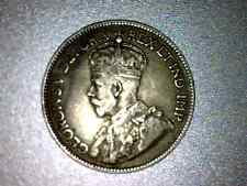 1917-C  Newfoundland Canada 25 cent coin