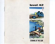 CD LEVEL 42 staring at the sun    (A1610)