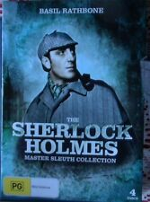The Sherlock Holmes Master Sleuth Collection 4 Disc DVD Set Region 4