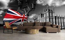 3D British flag color 1A Paper Murals Wall Print Decal Wall Deco AJ WALLPAPER