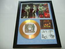 KIZZ    SIGNED  GOLD CD  DISC 05