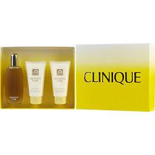 Aromatics Elixir Perfume Spray 3.4 oz & Body Wash 2.5 oz & Body Smoother 2.5 oz
