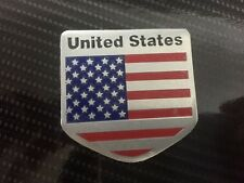 Us Usa American Flag Sticker Badge Emblem Decal Vinyl for toyota mazda acura gmc