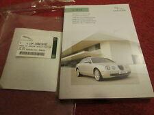 Jaguar S -type Owners Book ( Italian ) Genuine