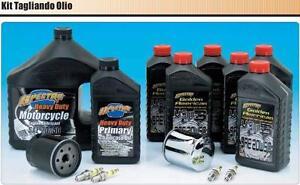 Kit 740658 Tagliando motore trasmissione HARLEY Big Twin Evo 84 al 99  filt crom