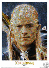 Poster LORD OF THE RINGS 3 - Legolas Mosaic  NEU 55621
