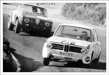 "Alfa Romeo GTA/GTV Vs BMW 2002 ""Wheel Lifting Performance""Car Poster!!"