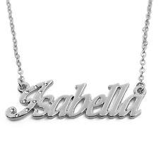 18k Plateó la Collar de Oro Con el Nombre - ISABELLA - Regalos Para las Mujeres