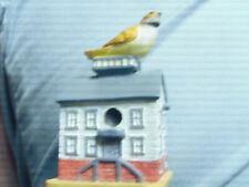 Lenox Mini Bird House with Yellow Bird