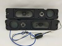 Pair of Replacement Speakers for LCD TV DYS 7G04E WG 5.834.002ROH w/ Cables