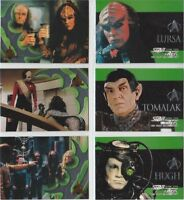 STAR TREK THE NEXT GENERATION SEASON SEVEN  EMBOSSED OR FOIL  CARDS    CHOOSE