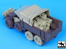 Black Dog 1/35 Krupp Protze German Truck WW2 Big Accessories Set (Tamiya) T35074