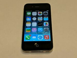 Apple iPhone 4 A1332 AT&T Wireless 16GB Black Touchscreen Smartphone/Cell Phone