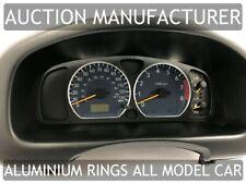 Suzuki Ignis 2000-2003  Cerclages De Compteur Aluminium Anneaux Chrome x2