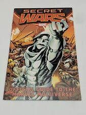 Secret Wars Official Guide to the Marvel Multiverse (2015) Free Shipping