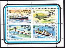 WHOLESALE SOLOMON IS 1990 London / Transport souvenir sheet x 26 MNH.......9120