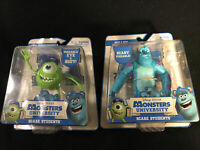 Discontinued Disney Pixar Monster University Scare 2 Figurines/Poseable NEW