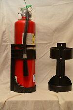 Universal 10Lb Fire Extinguisher Black Abs Plastic Vehicle Bracket