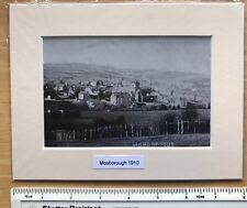 "Mounted b & w photo, print of Mosborough, Sheffield 1910: 8"" x 6 Vintage NEW"