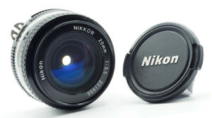 NIKON NIKKOR 20mm AIS - 1983 - MINTY!
