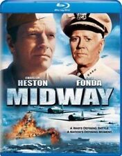 Midway 0025192112041 With Charlton Heston Blu-ray Region a