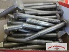 10 Edelstahlschrauben 10x90 Sechskantschraube mit bes.Härte 18-8 A2-70 DIN931