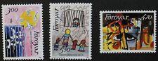 25th anniversary of Amnesty international stamps, 1986, Faroe Islands, MNH