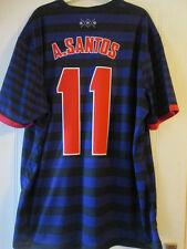 Arsenal 2012-2013 A Santos 11 Away Football Shirt Size Extra Extra Large /35428