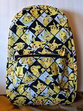 NWT Pokemon Pikachu Checkered Backpack