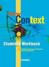 NEW CONTEXT Oberstufe. Student's Workbook Mit Self-assessment + Lösungen