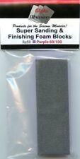 Alpha Abrasives Super Sanding & Finishing Foam Block - Purple 60/100 grit #1002